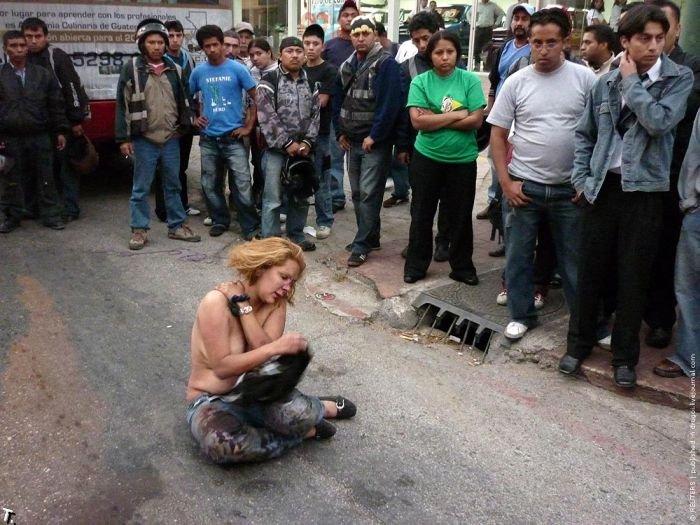Суд Линча в Гватемале (3 фото)