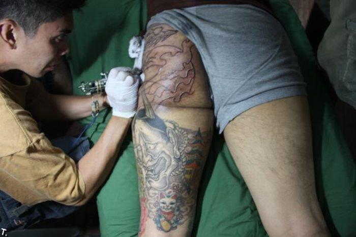 Татуировки на попах (42 фото)