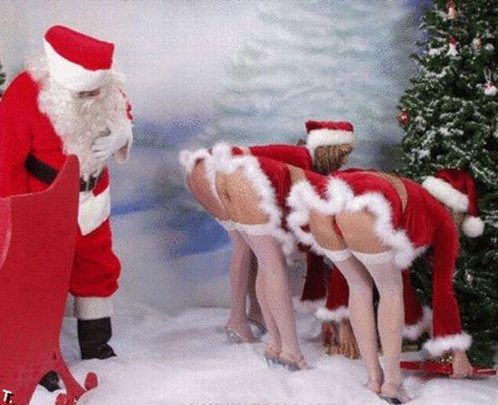 Сексуальные снегурочки (183 фото)