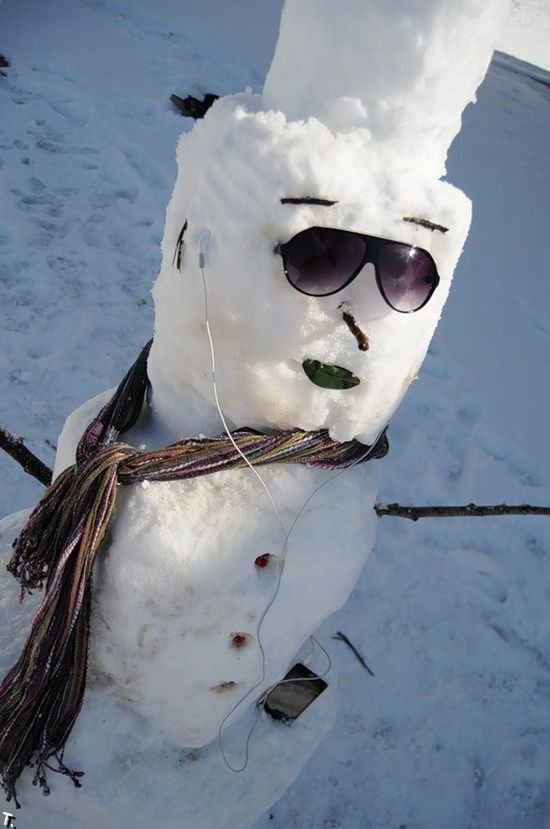 Снеговики (28 фото)