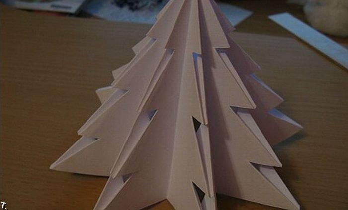 Как сделать настольную елку (22 фото)