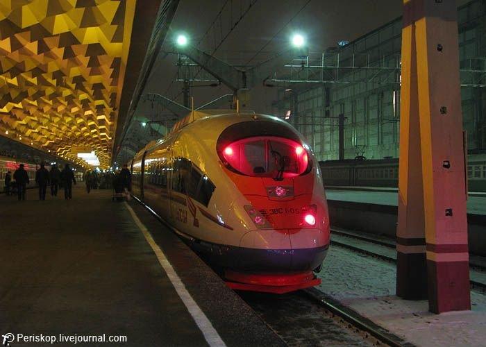 """Скоростной поезд """"Сапсан"""" (28 фото)"""