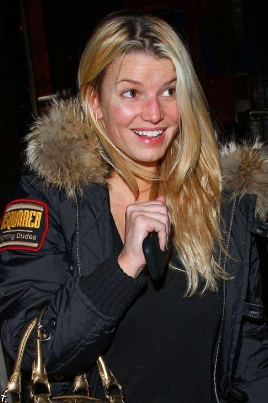 Джессика Симпсон без макияжа (8 фото)