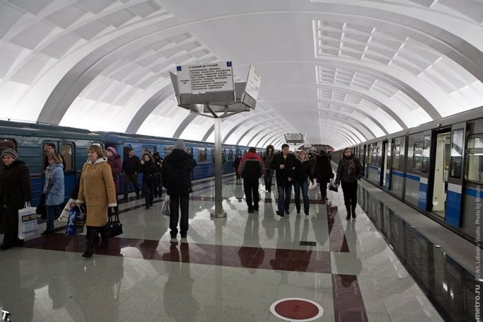 Митино. Станция метро (50 фото)