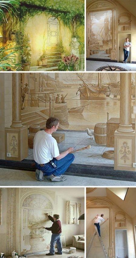 Потрясающие трехмерные рисунки (25 фото)