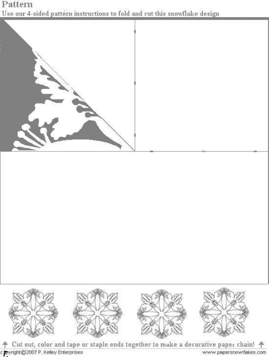 Самодельные снежинки (60 картинок)