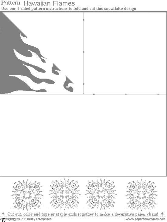Хотите сами сделать новогодние украшения.  Или занять детишек? )) Распечатайте эти выкройки и создавайте свои снежинки.
