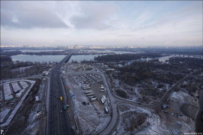 Московский мост в Киеве (19 фото)