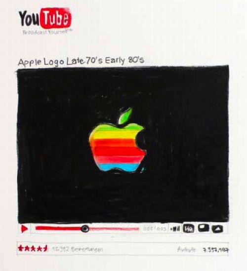 Нарисованный YouTube (29 фото)