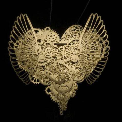 Кулоны-часы Clockwork Love (14 фото)