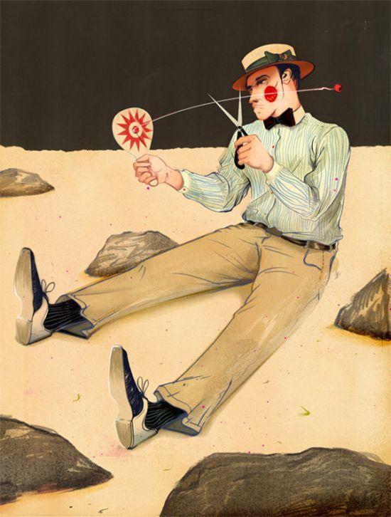 Рисунки Джонатана Барлетта (17 фото)