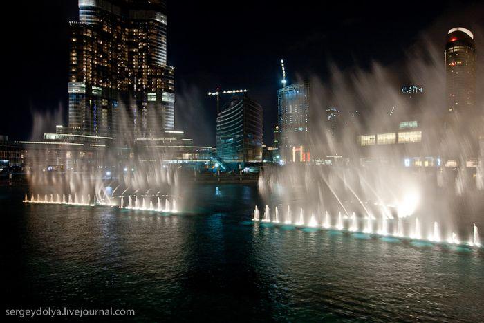 Шоу фонтанов в дубае (14 фото)