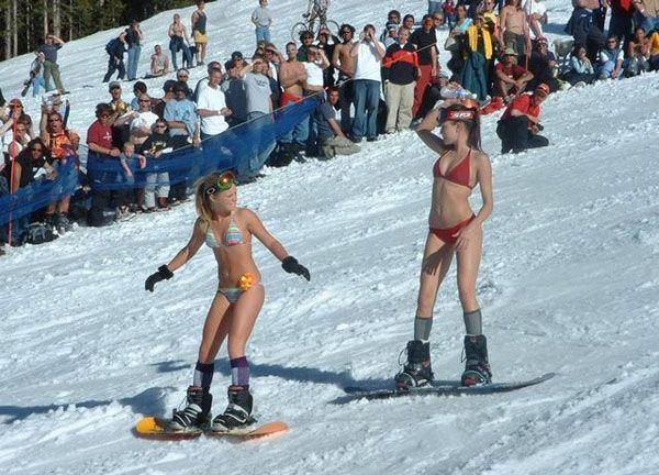 Snowboard bikini