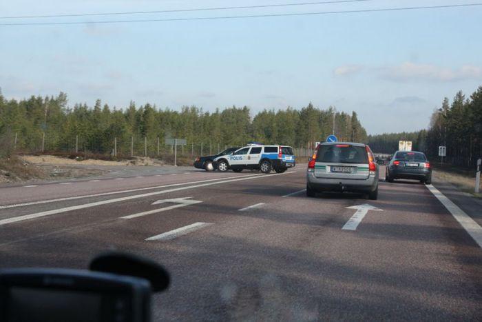 Погоня в Швеции (8 фото)