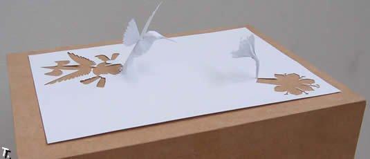 Бумажные скульптуры Питера Каллесена (140 фото)
