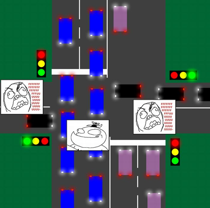 Самые раздражающие ситуации на дорогах (14 фото)