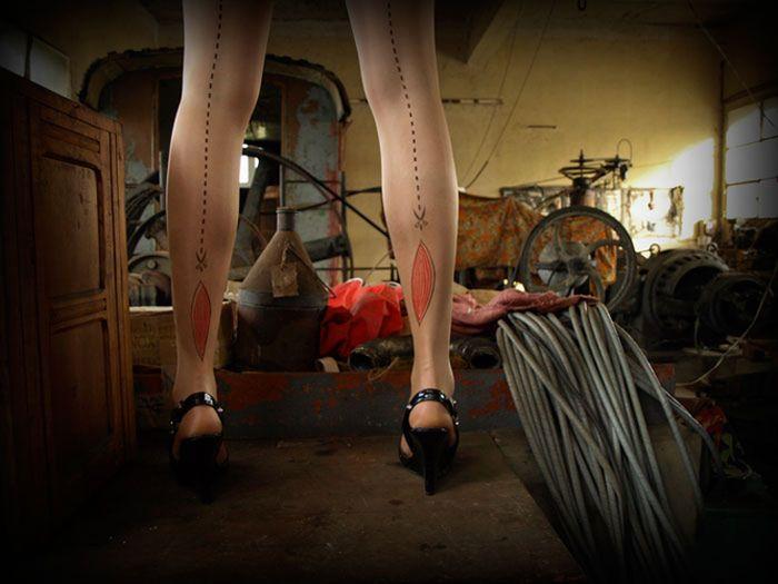 Необычные чулки (17 фото)