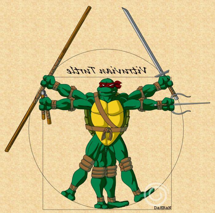 Витрувианский человек (18 фото)