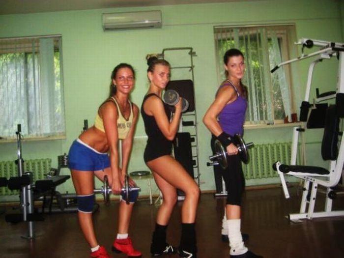 Девушки из спортзалов (31 фото)
