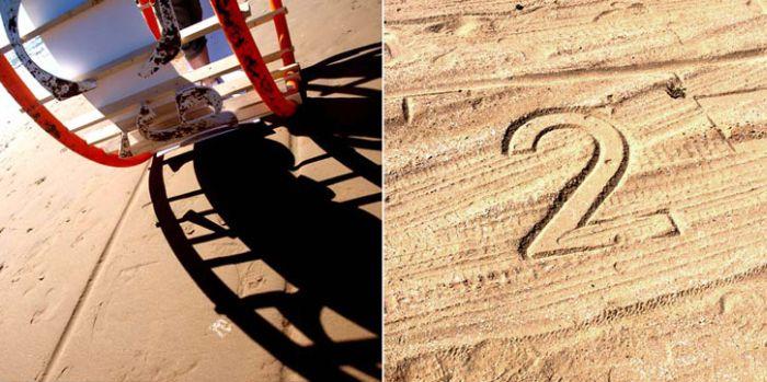 Песочный принтер (6 фото)
