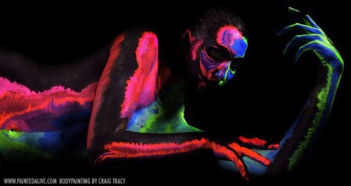 Бодиарт от Craig Tracy (44 фото)