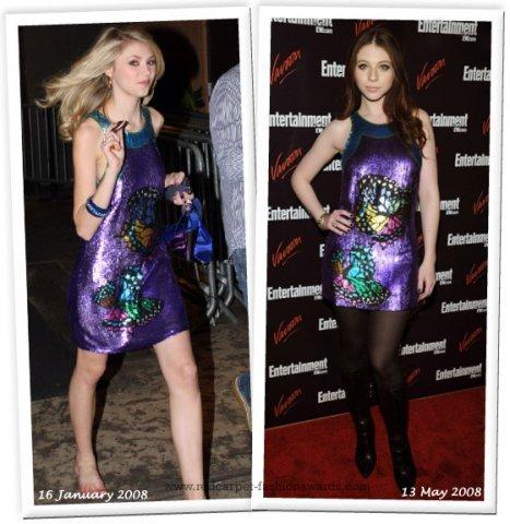 Звезды в одинаковой одежде (76 фото)