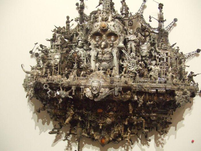 Скультуры Kris Kuksi (70 фото)