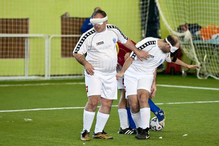 Bizarre football tournament. futbol023 Bizarre football tournament.
