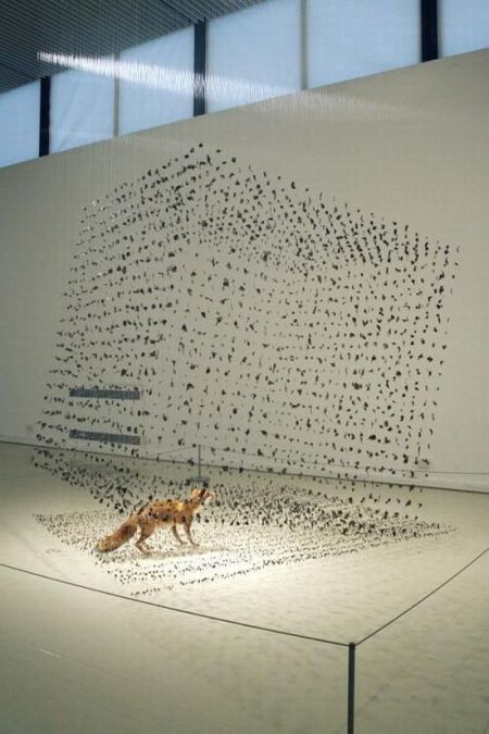 Парящие скульптуры (12 фото)