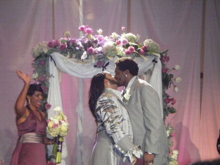 Необычная свадьба (24 фото)