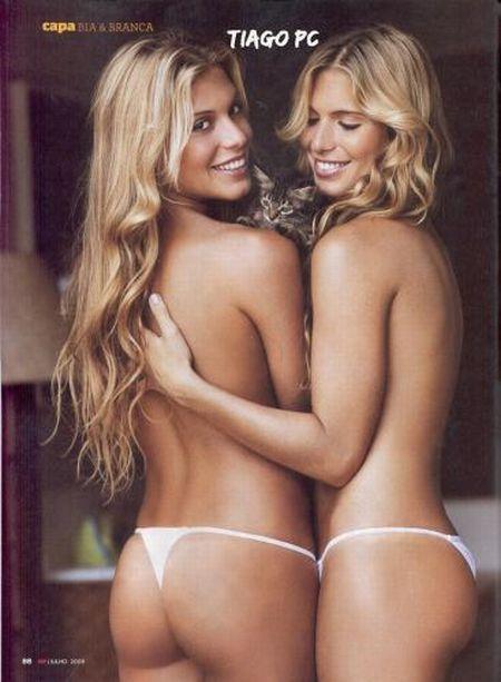 Сексуальные близняшки (43 фото)