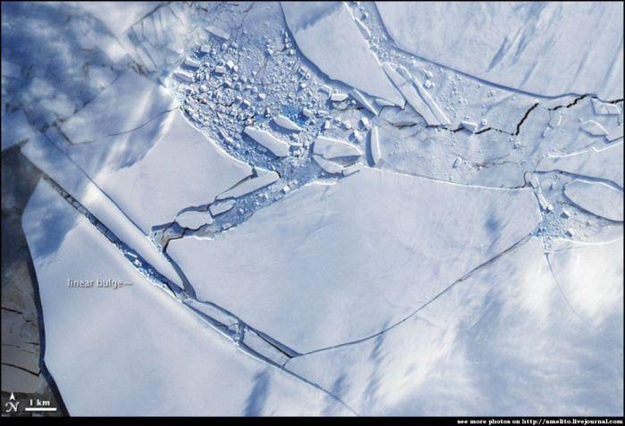 Заледеневшая земля (14 фото)