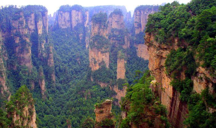 Китайская гора Аватар (16 фото)