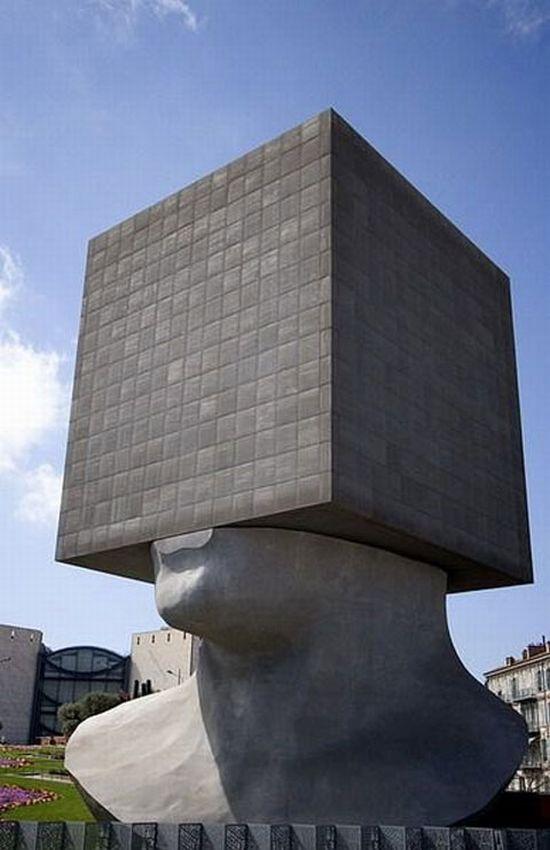 Самые необычные скульптуры (52 фото)