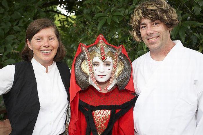 Свадьба в стиле Звездных воин (15 фото)