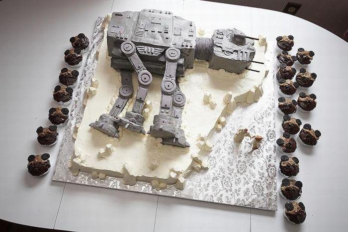 """Свадьба в стиле  """"Звездных войн """" (15 фото)"""