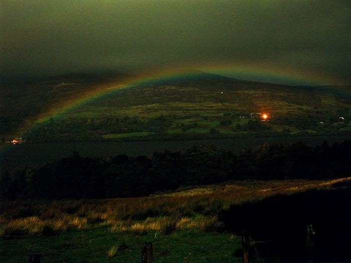 Лунная радуга (12 фото)