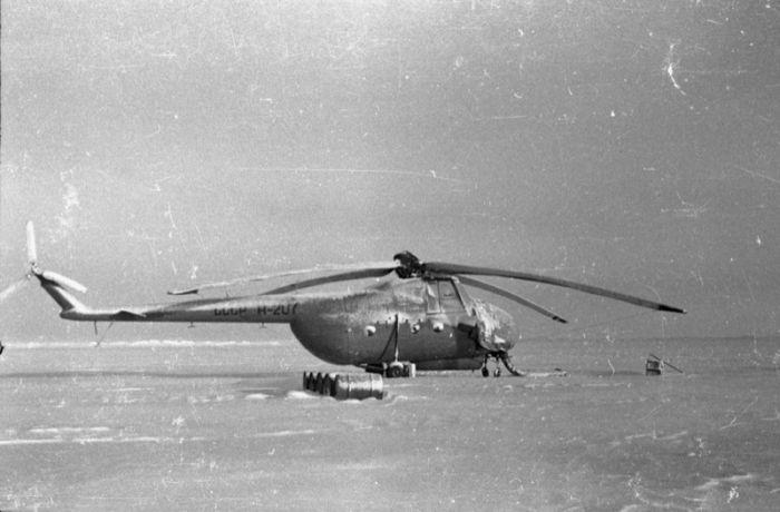 Советские исследователи на Северном Полюсе (49 фото)