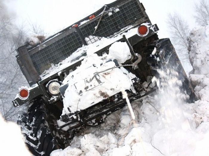 Самодельный Hummer (18 фото + видео)