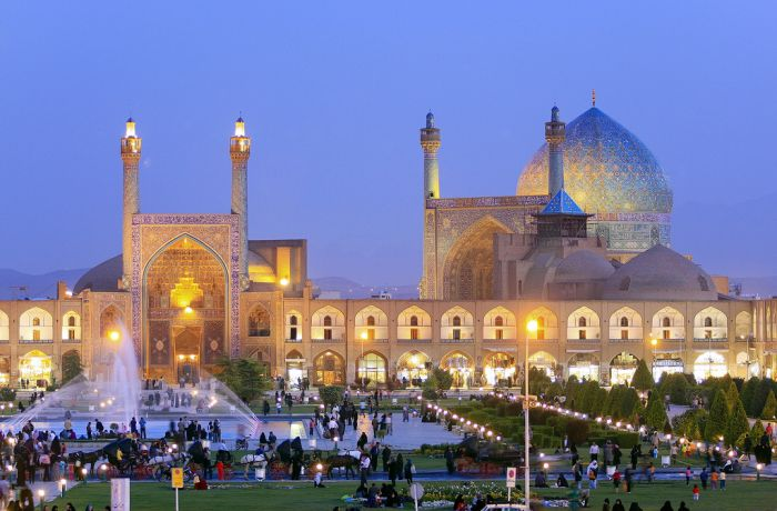 Архитектура Ирана (128 фото)