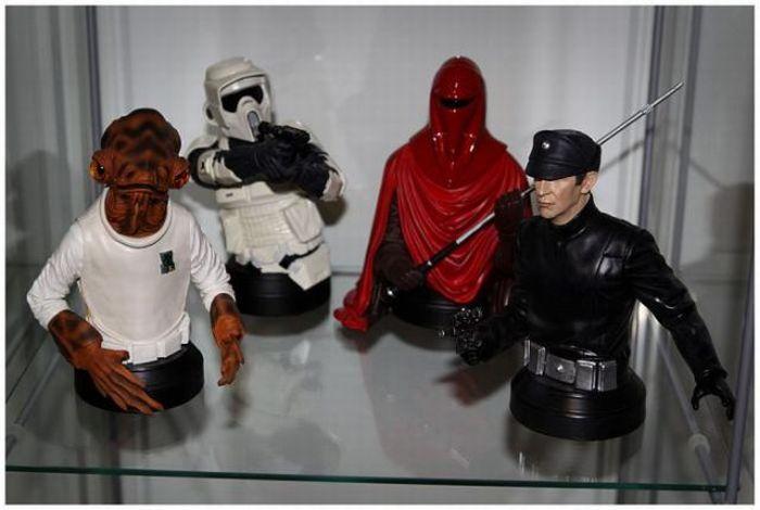 Коллекция любителя Звездных воин (143 фото)