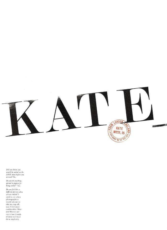Обнаженная Кейт Мосс (Kate Moss) (8 Фото)