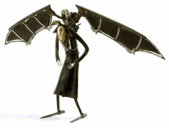 Скульптуры стимпанк (250 фото)