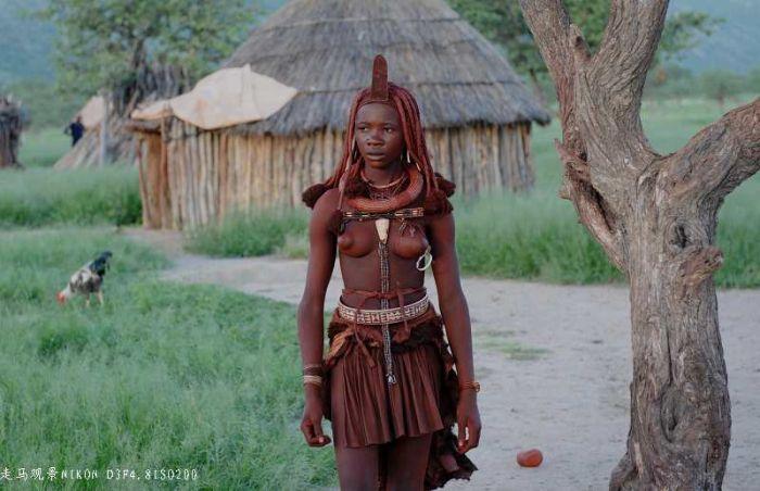 Местные жители Намибии (37 фото)