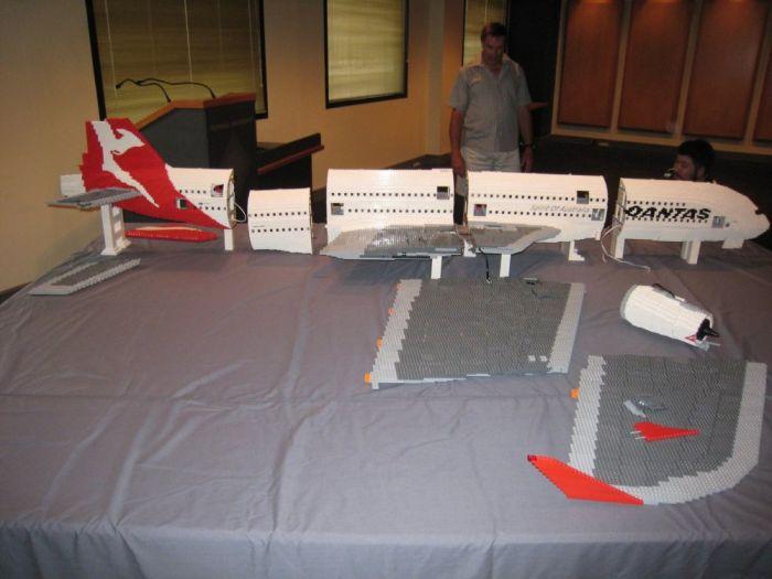 Airbus A380 из Lego (19 фото)