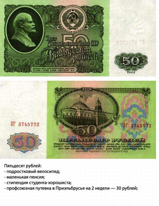 Что можно было купить за деньги в СССР (7 фото)