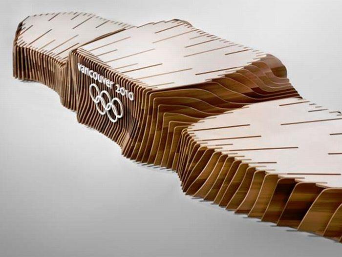 Олимпийский подиум (4 фото)