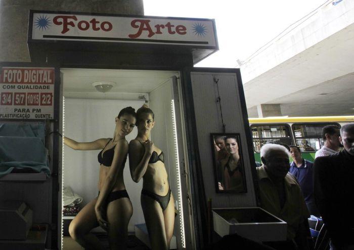 День нижнего белья в Бразилии (12 фото)
