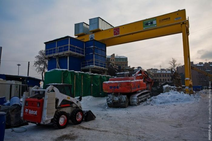 Строительство метро (17 фото)