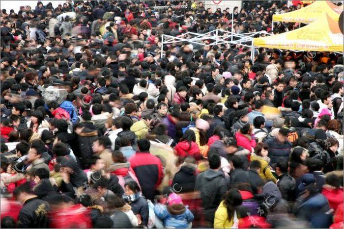 Метель в Китае как стихийное бедствие (24 фото)